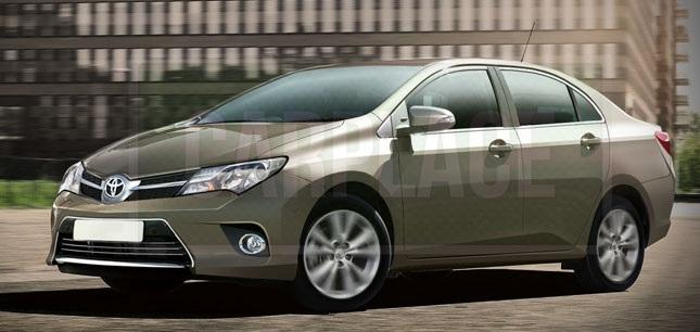 Известны новые подробности Toyota Corolla 2014